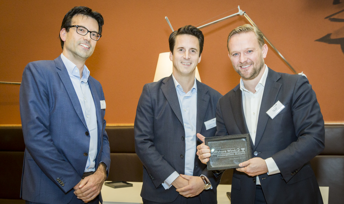 Fistuca winner Offshore Wind Innovation Award 2018