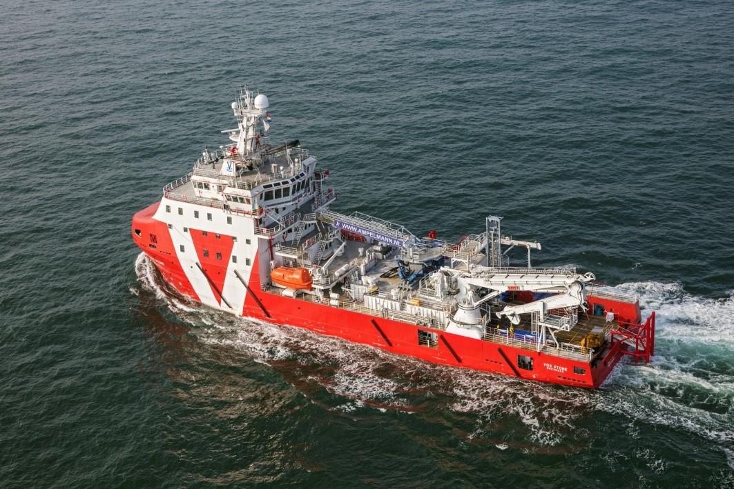 Ampelmann's A400 gangway system starts maiden voyage for Arkona offshore wind farm