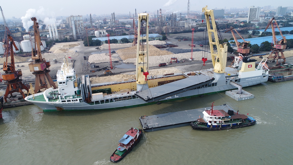 Damen shipping multiple pontoons to Rotterdam
