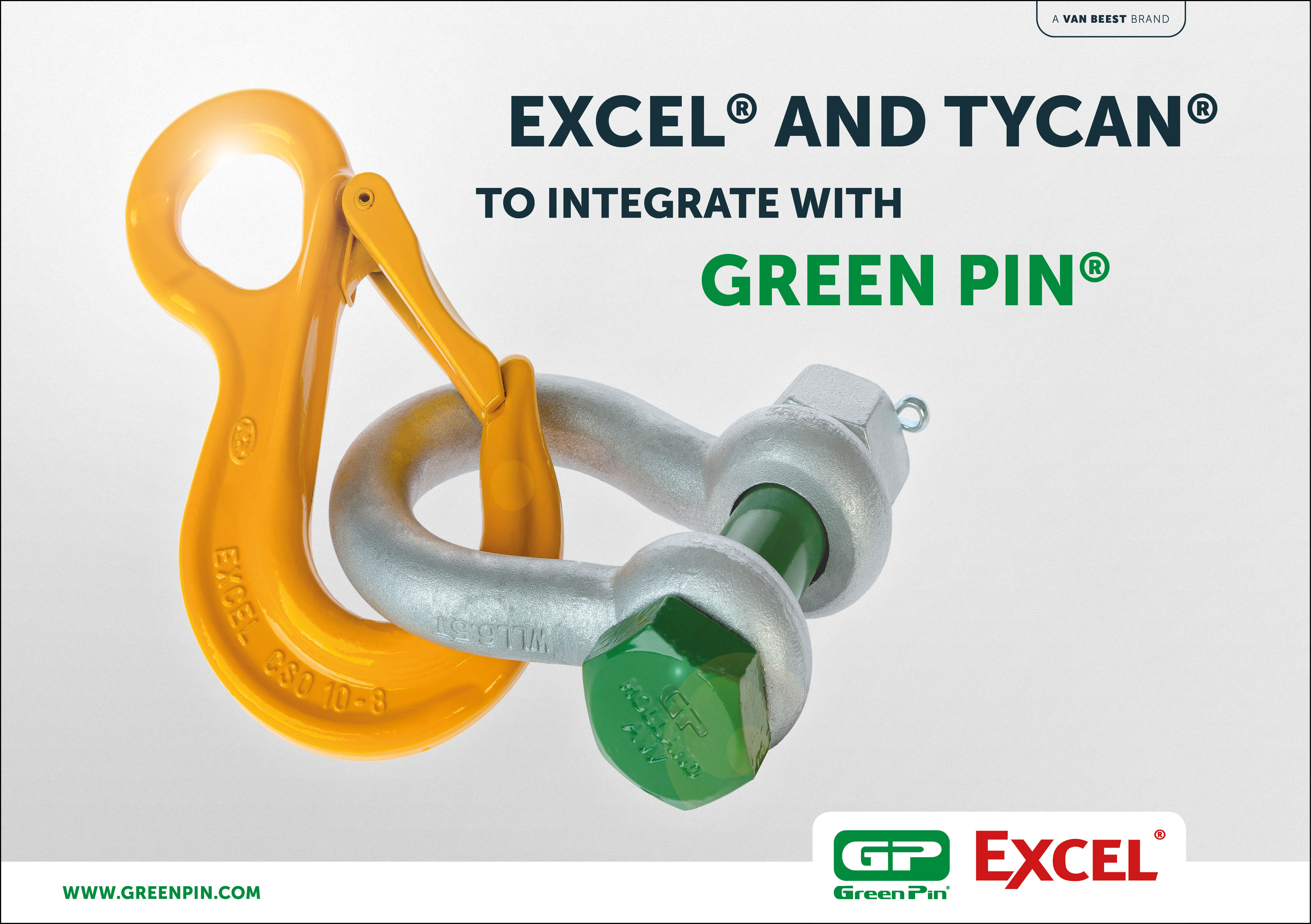 Excel® and Tycan® to integrate with Green Pin®
