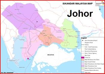 Invitation briefing session on Iskandar Malaysia, Johor area