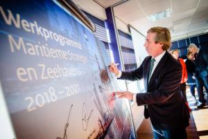 Maritieme sector tekent voor duurzame toekomst