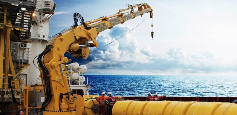 Conbit enhances offshore lifting capabilities with knuckle boom crane