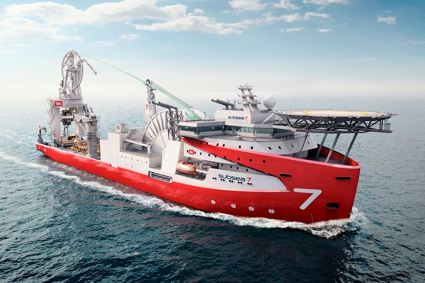 Royal IHC hits first milestones for Subsea 7 reel lay vessel
