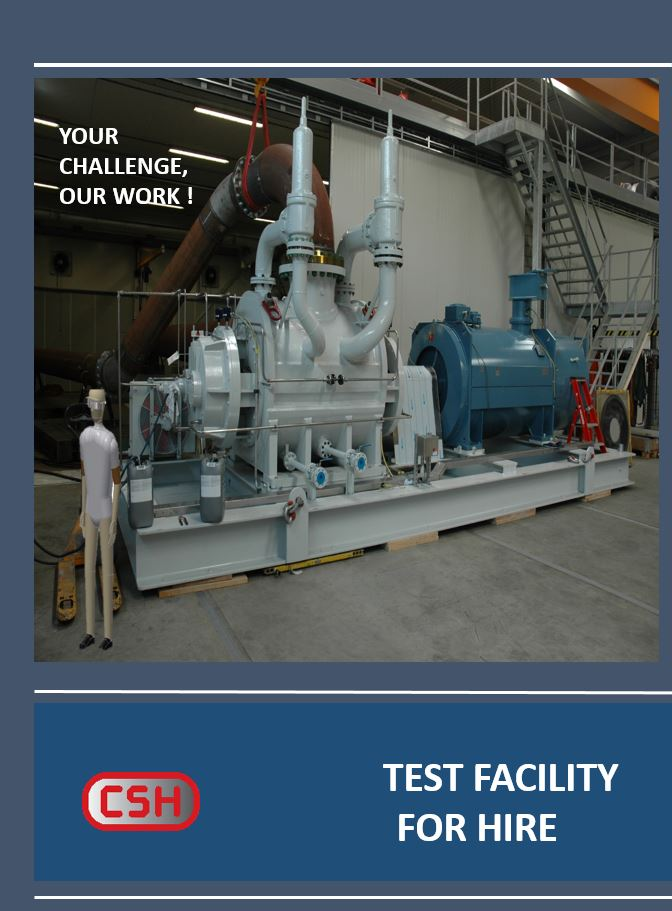 Test facility available for hire