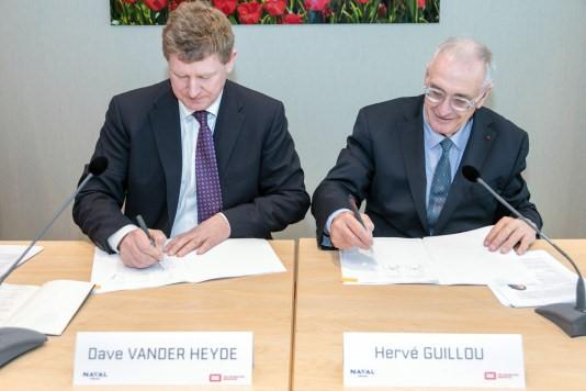 Naval Group en Royal IHC presenteren hun strategische samenwerking voor de vervanging van de Nederlandse Walrusklasse-onderzeeboten