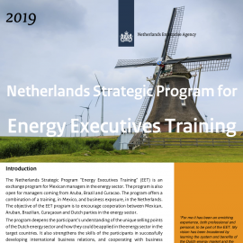 """The Netherlands exchange program """"Energy Executives Training"""" open for application"""