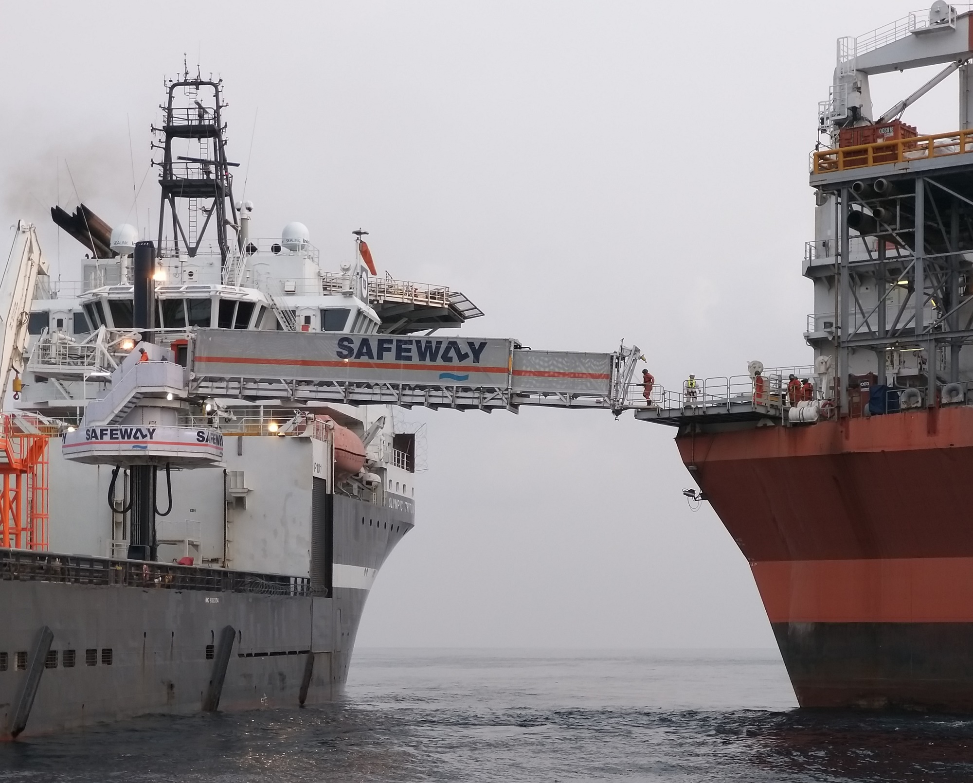Safeway passes 10,000 safe personnel transfers at Shell Bonga FPSO with zero HSSE incidents