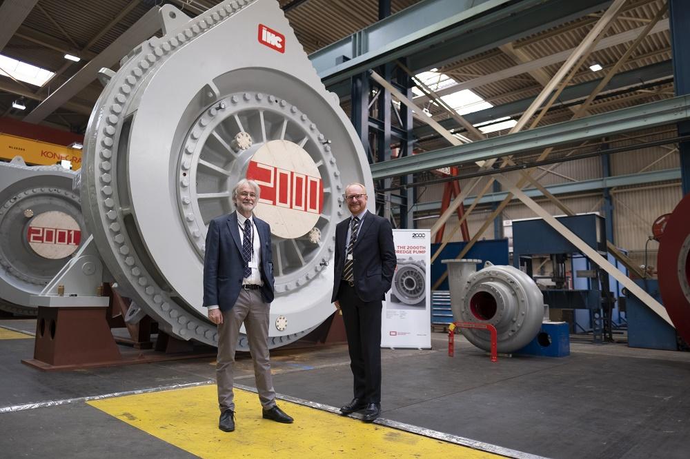Royal IHC delivers 2,000th dredge pump