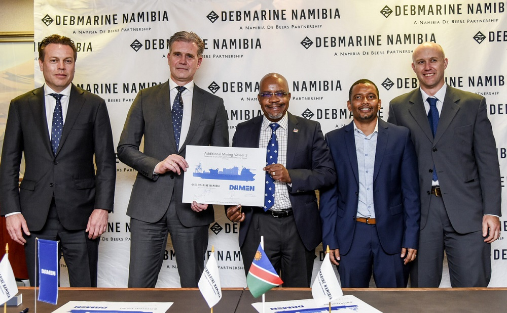 Damen and De Beers Marine Namibia formalise new relationship, with Mangalia yard centre stage
