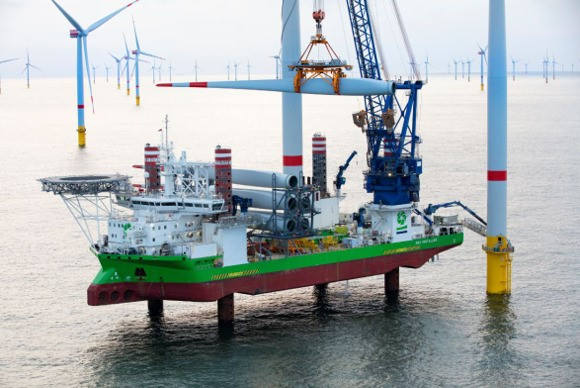 DEME Offshore awarded major Hornsea Two contract for foundation and turbine installation