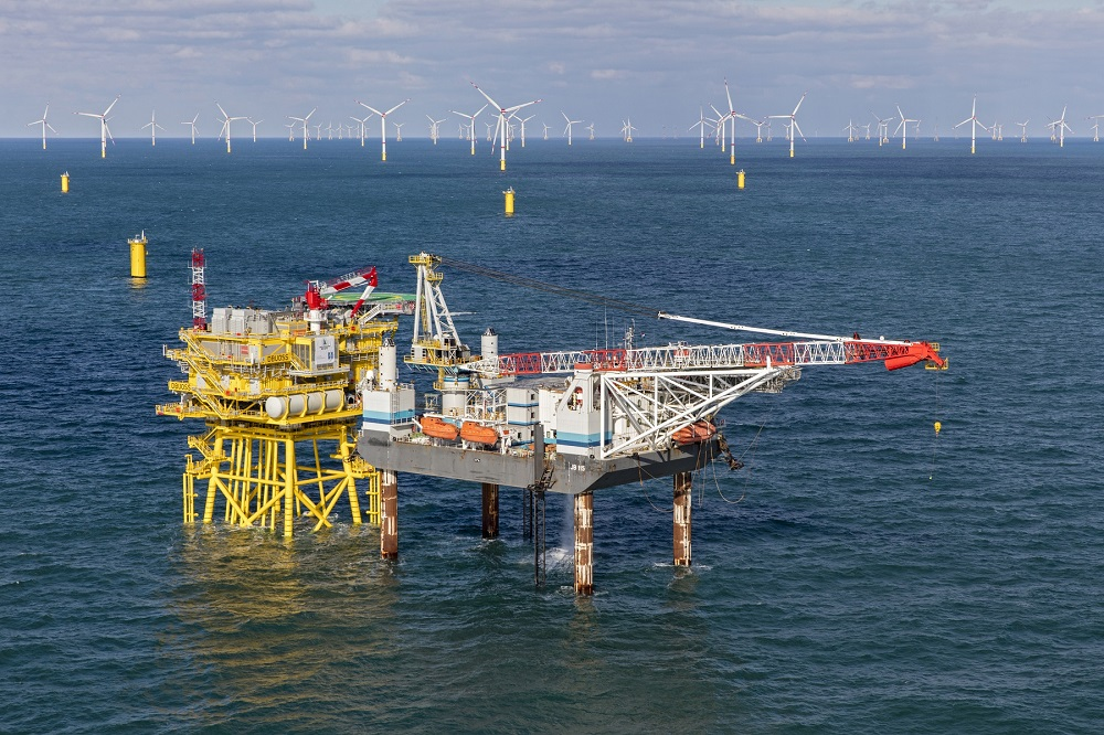 Jack Up Barge works again with Van Oord Offshore Wind for German offshore wind farm