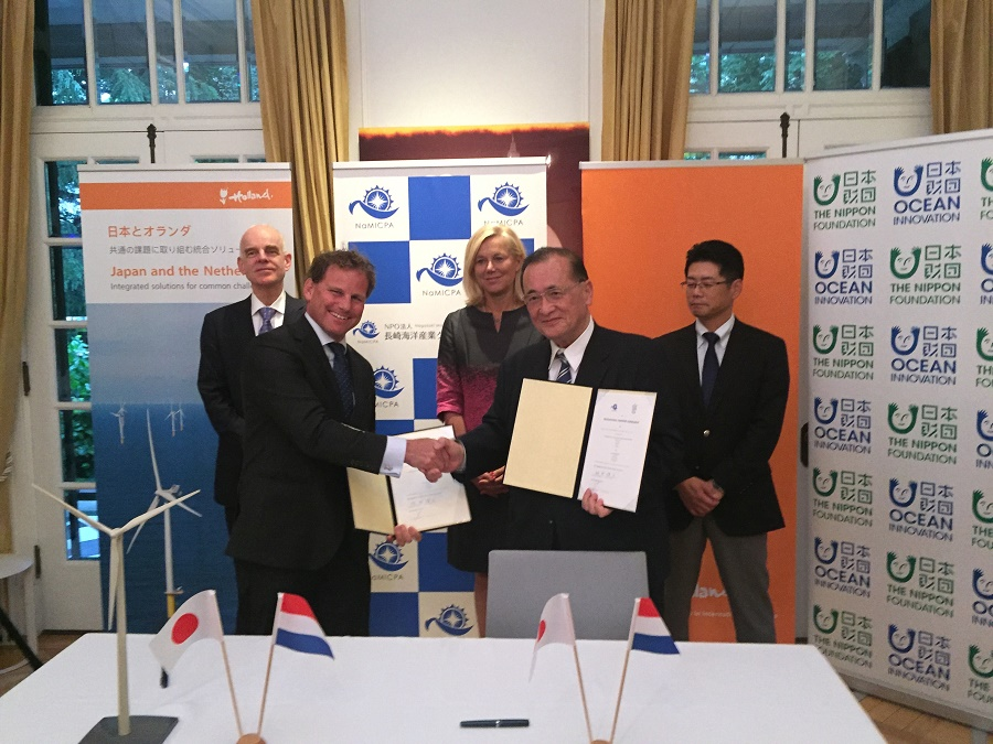 DOB-Academy signed two contracts in Tokyo, Japan