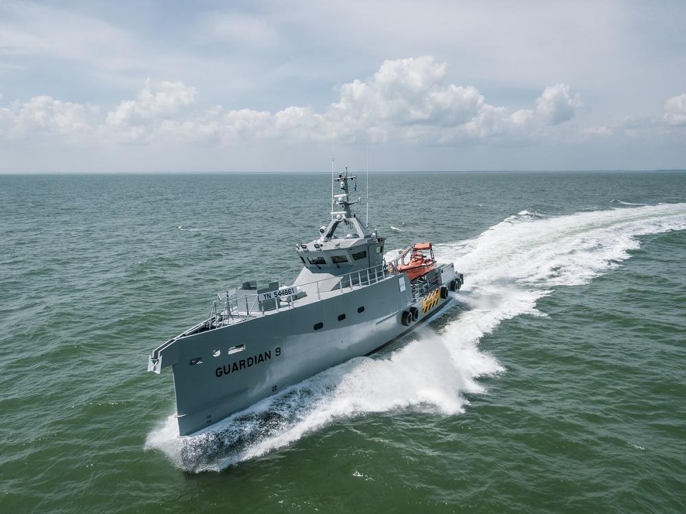 sale retailer d23ce 5cfb8 Two more Damen FCS 3307 Patrol vessels delivered to Homeland ...