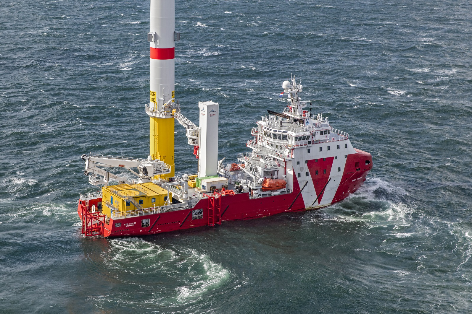 VOS Start completes successful charter for MVOW