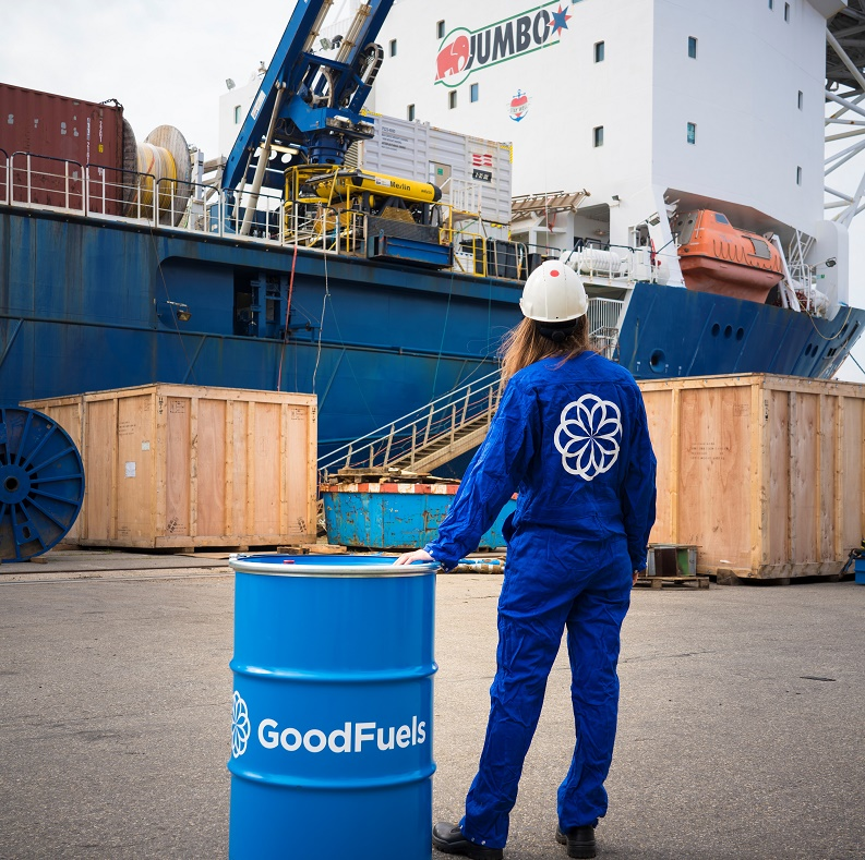 Jumbo and GoodFuels Partner to Take Sustainable Bio-Fuel Oil to the Offshore Support Market