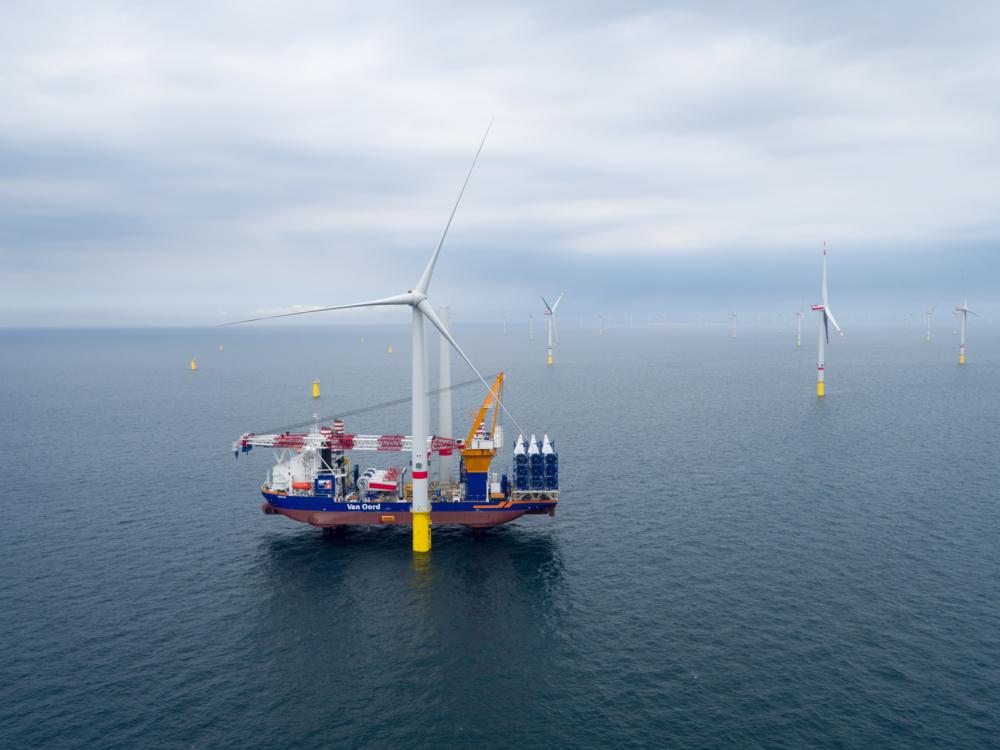 Aeolus completes turbine installation at Deutsche Bucht offshore wind farm