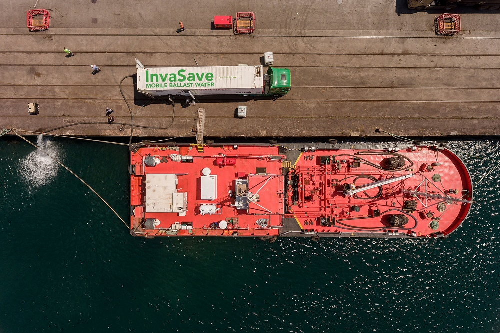 InvaSave proves ready to help vessel owners in time for Ballast Water Management Convention deadline