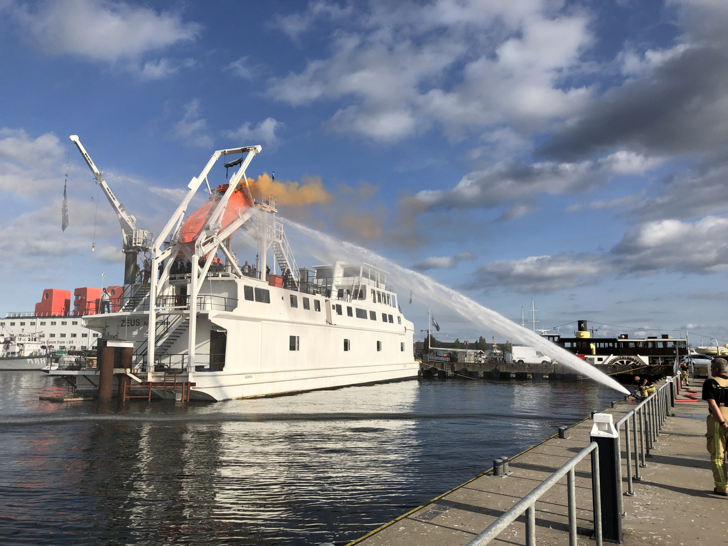 Opening new training ship RelyOn Nutec Amsterdam