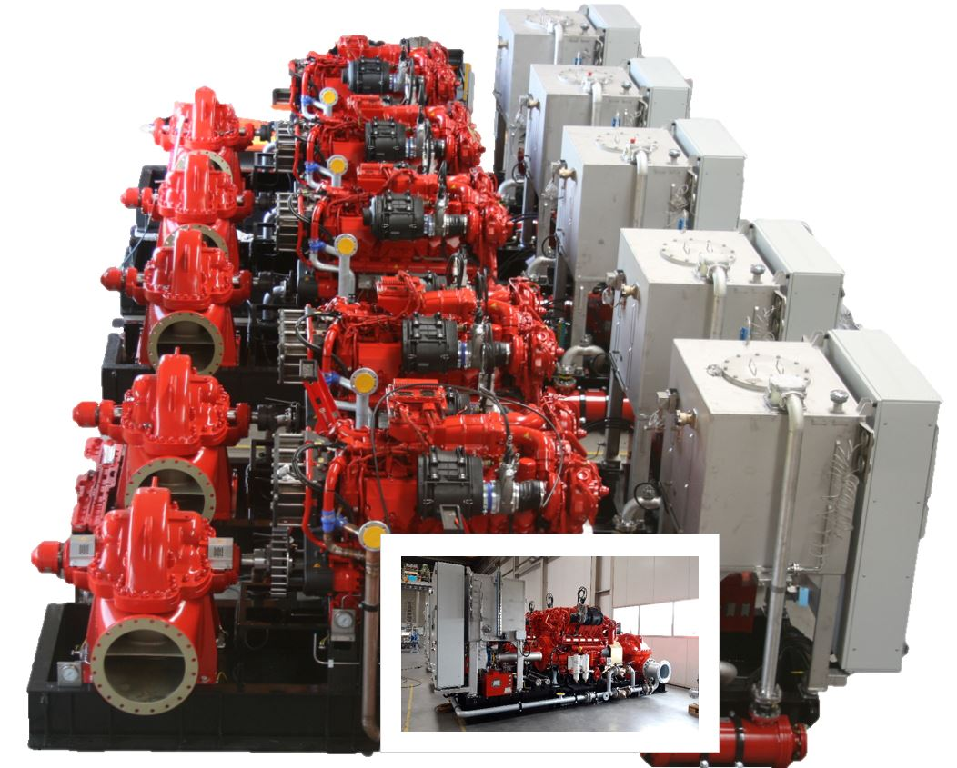 CSH  Hydrodiesel delivered 5 FPSO Fire Pump Systems