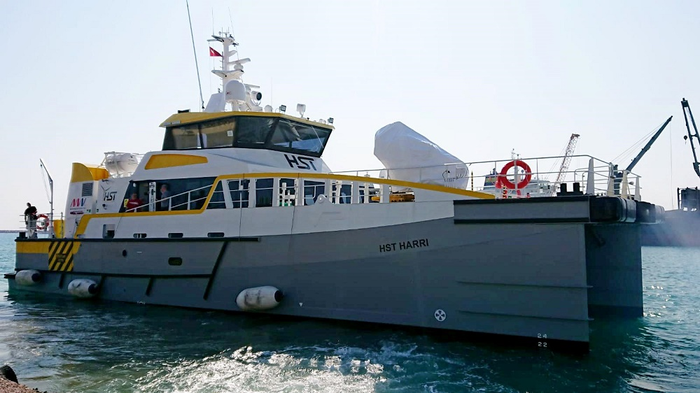 Damen delivers third Fast Crew Supplier 2710 to  High Speed Transfers