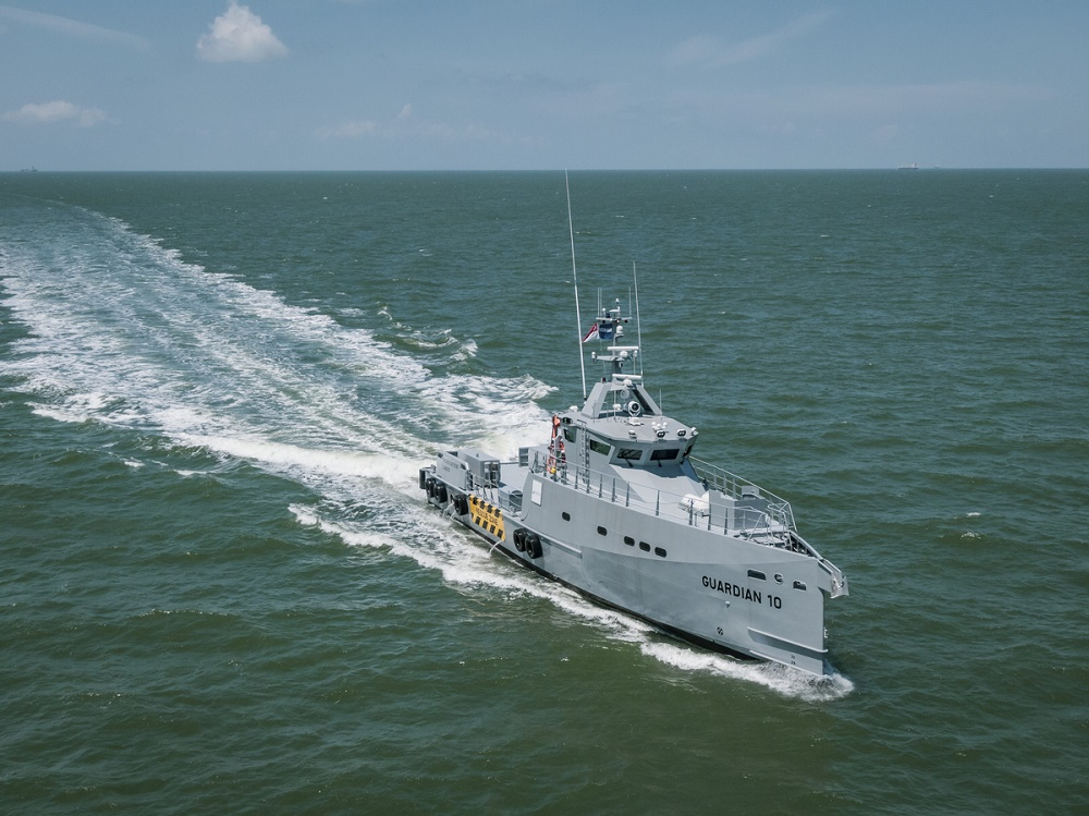 Latest Damen FCS 3307 Patrol vessels for Homeland Integrated Offshore Services Limited arrive in Nigeria