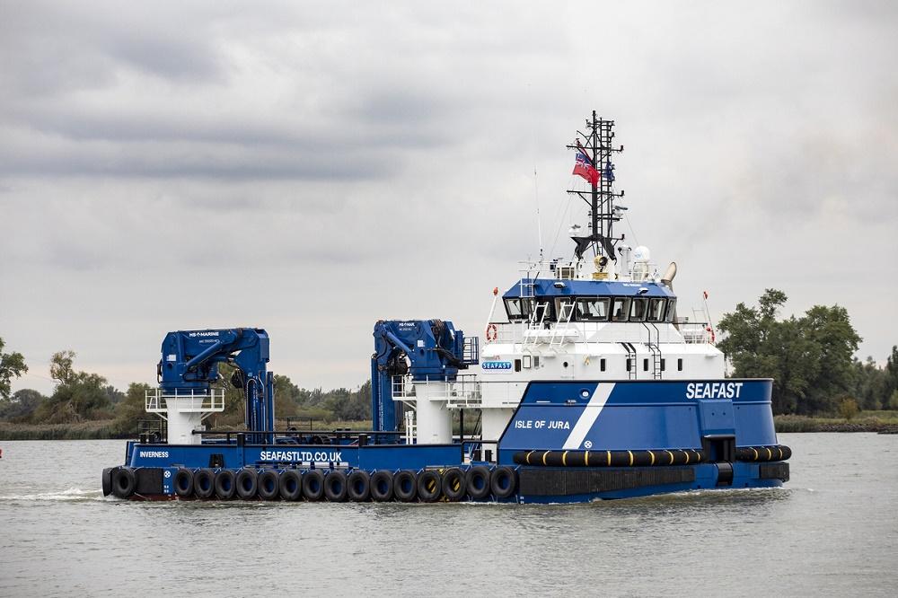Seafast Marine's RSV named at Damen Shipyards Hardinxveld