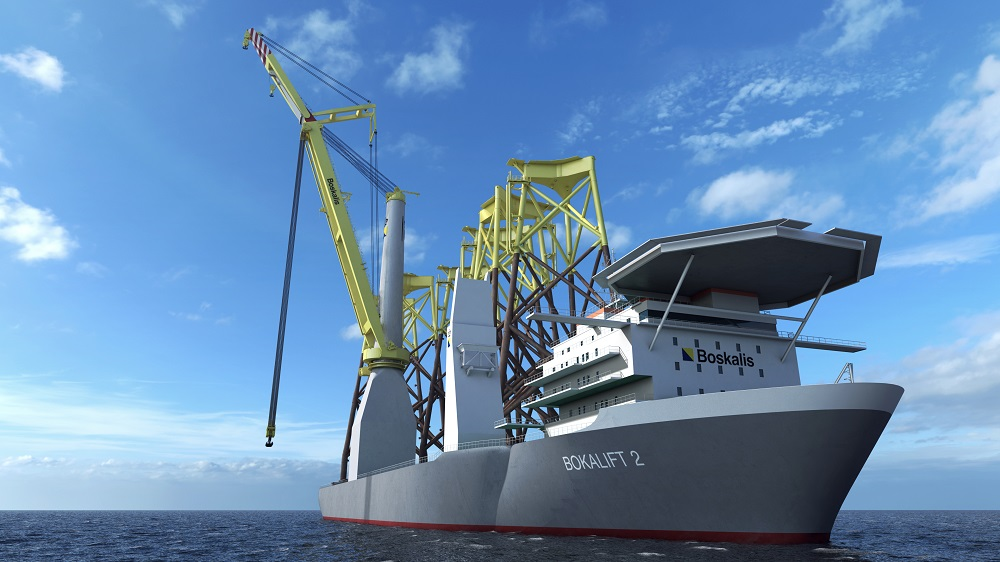 Boskalis awarded Changfang and Xidao offshore wind farm project in Taiwan and announces new Bokalift 2 crane vessel