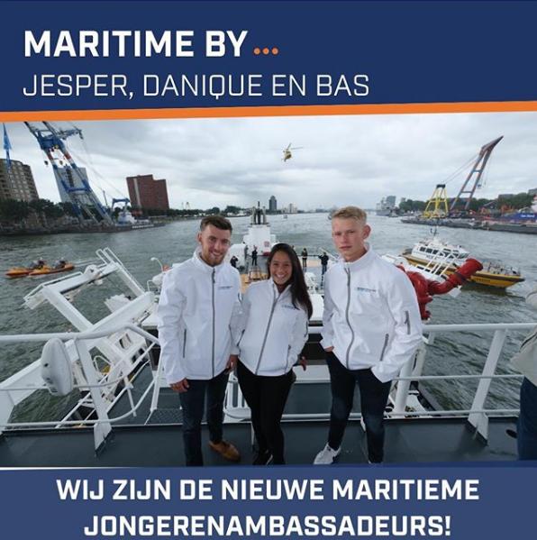 Maritime by… Bas, Danique en Jesper in oktober