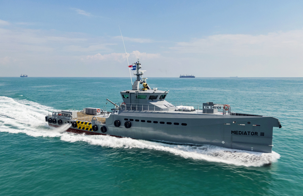 Three new Damen FCS Patrol vessels for SR Platforms achieve major milestones in a single week