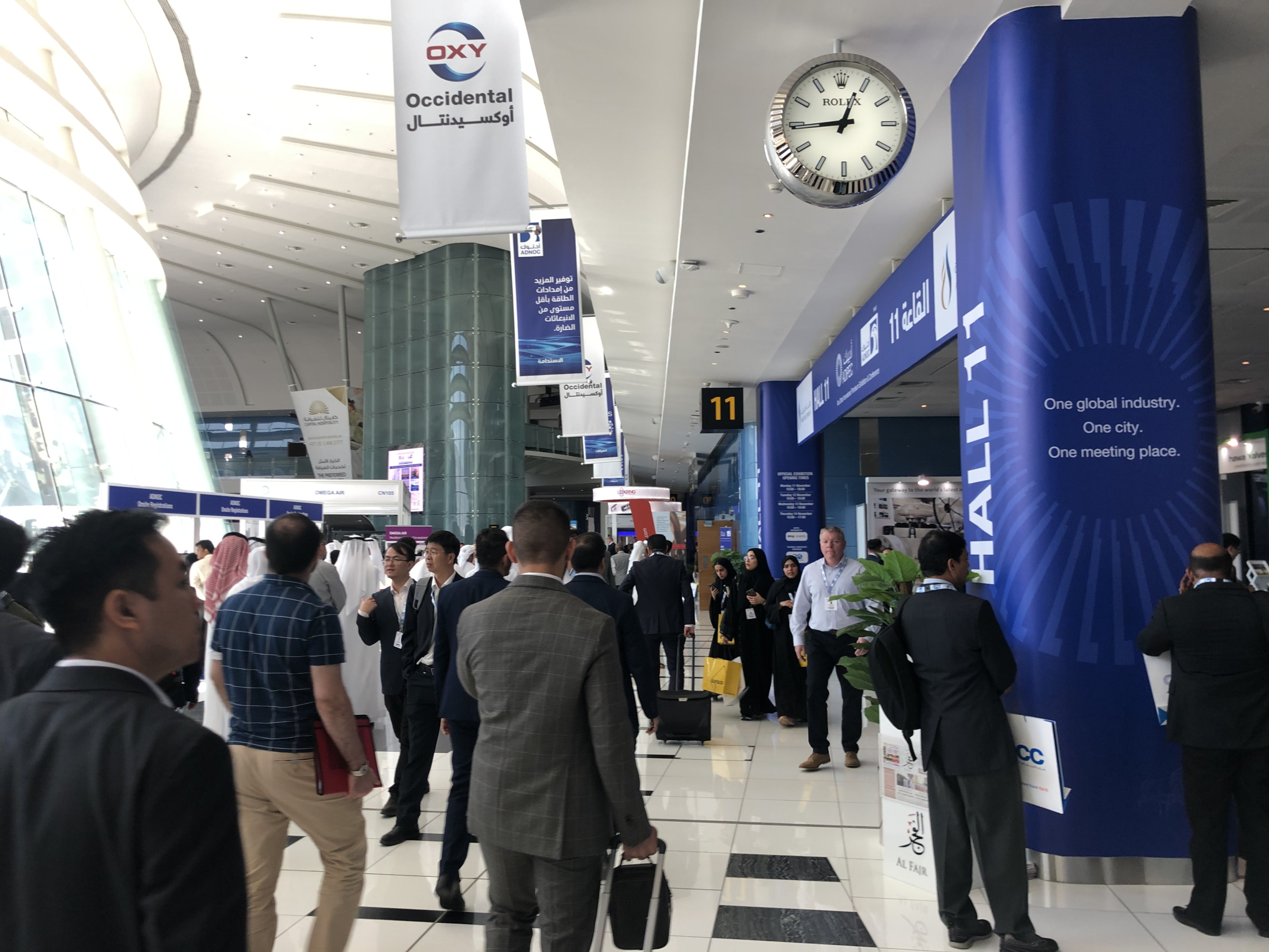 ADIPEC 2019: 150,000 visitors and counting