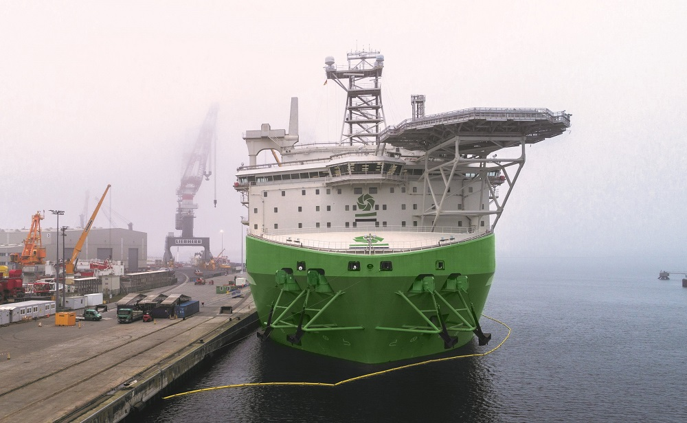 Game changing installation vessel 'Orion' enters final construction phase with installation of 5,000-tonne crane
