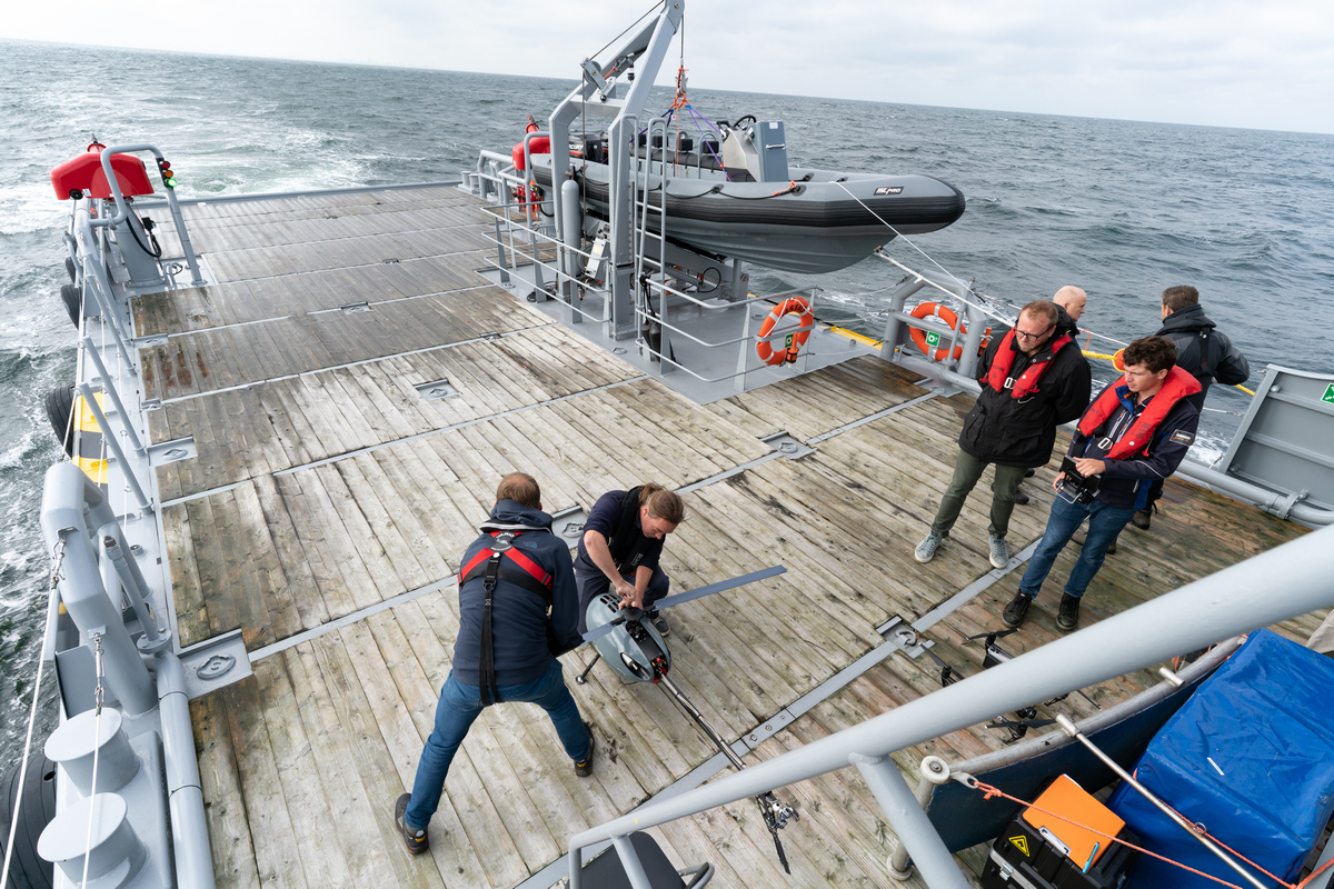 Damen FCS demonstrates versatility again in collaborative technology project