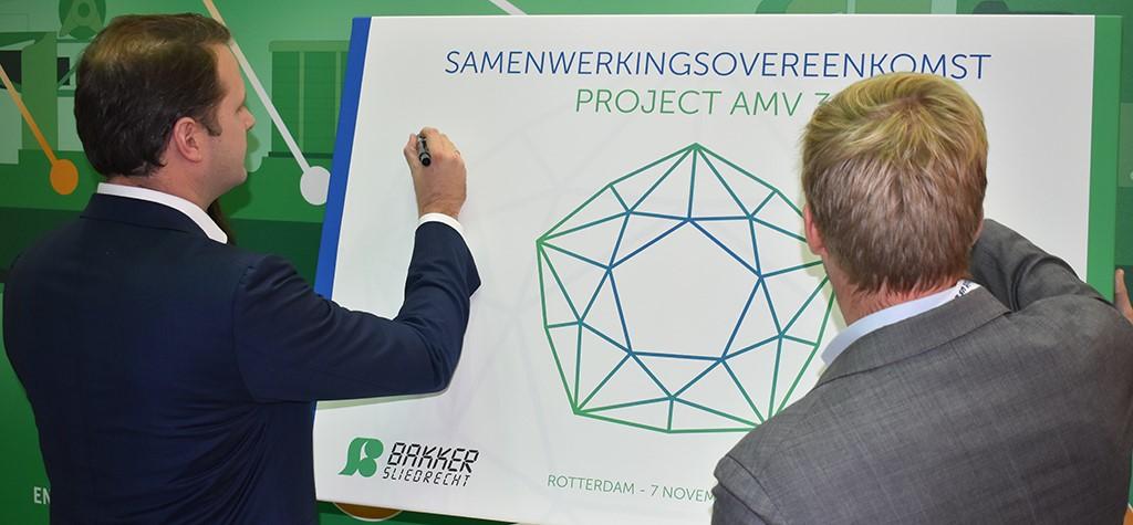 Unique partnership between Damen Shipyards Group and Bakker Sliedrecht for AMV 3 project