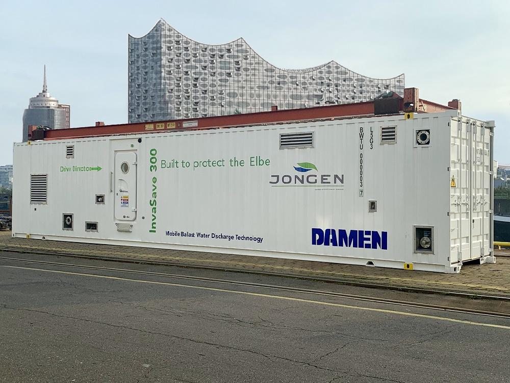 Jongen deploys Damen InvaSave for the Port of Hamburg