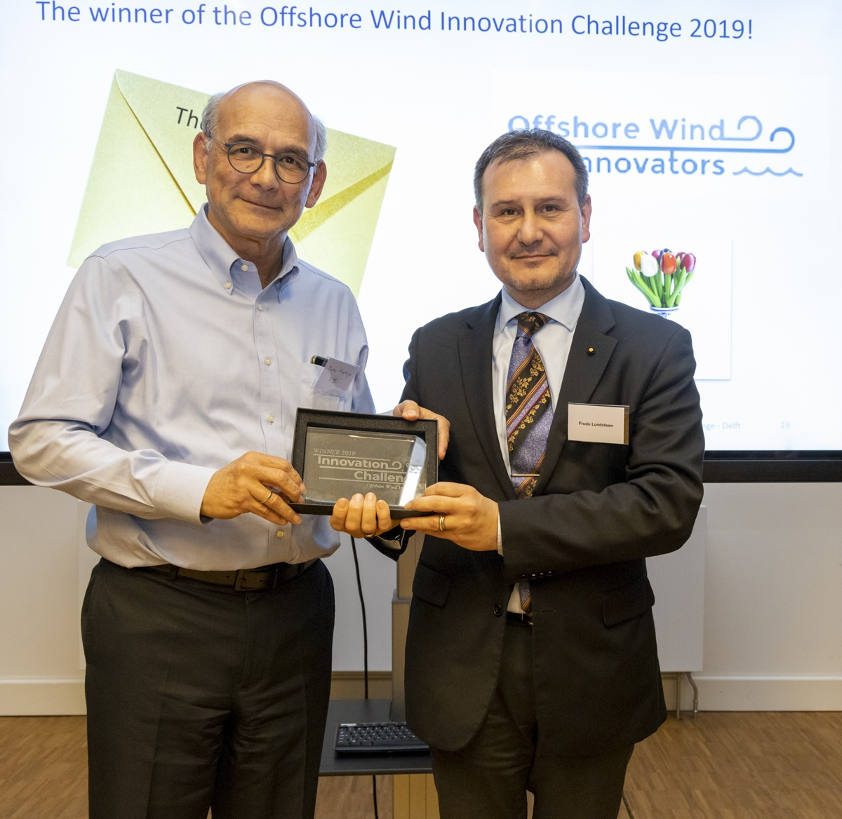 Marine Performance Systems wint Offshore Wind Innovation Challenge 2019
