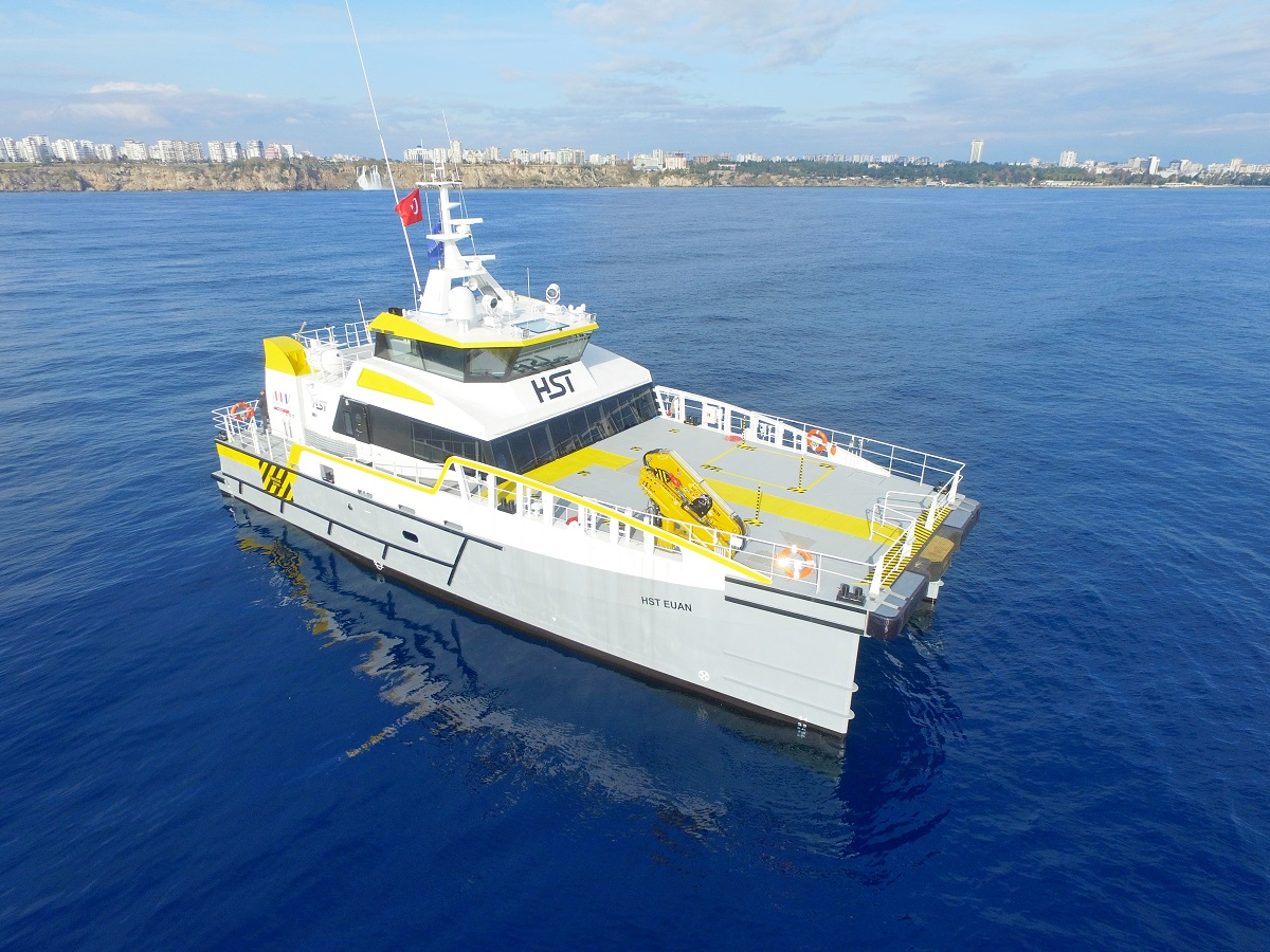 High Speed Transfers takes delivery of fourth  Damen Fast Crew Supplier 2710 in 18 months