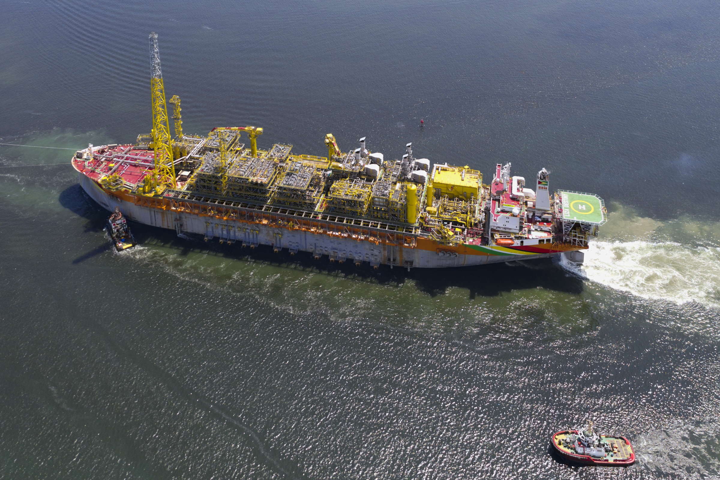 FPSO Liza Destiny producing and on hire