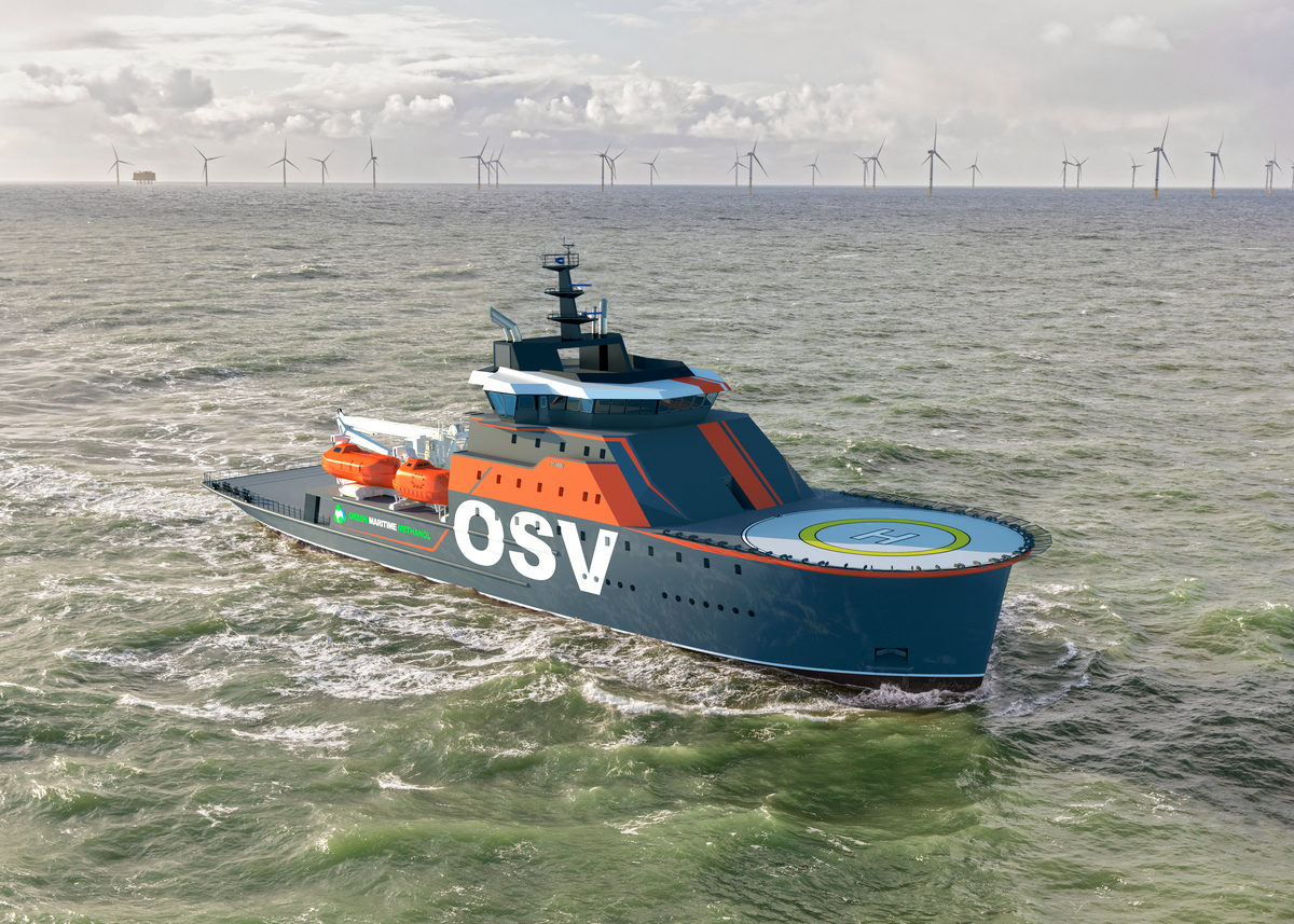 Damen OSV 9020 answers calls for versatility in offshore support