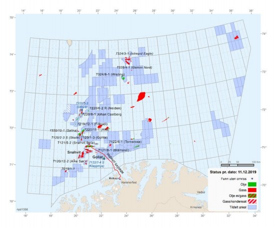 Gassco recommends Norway boost Arctic gas export capacity