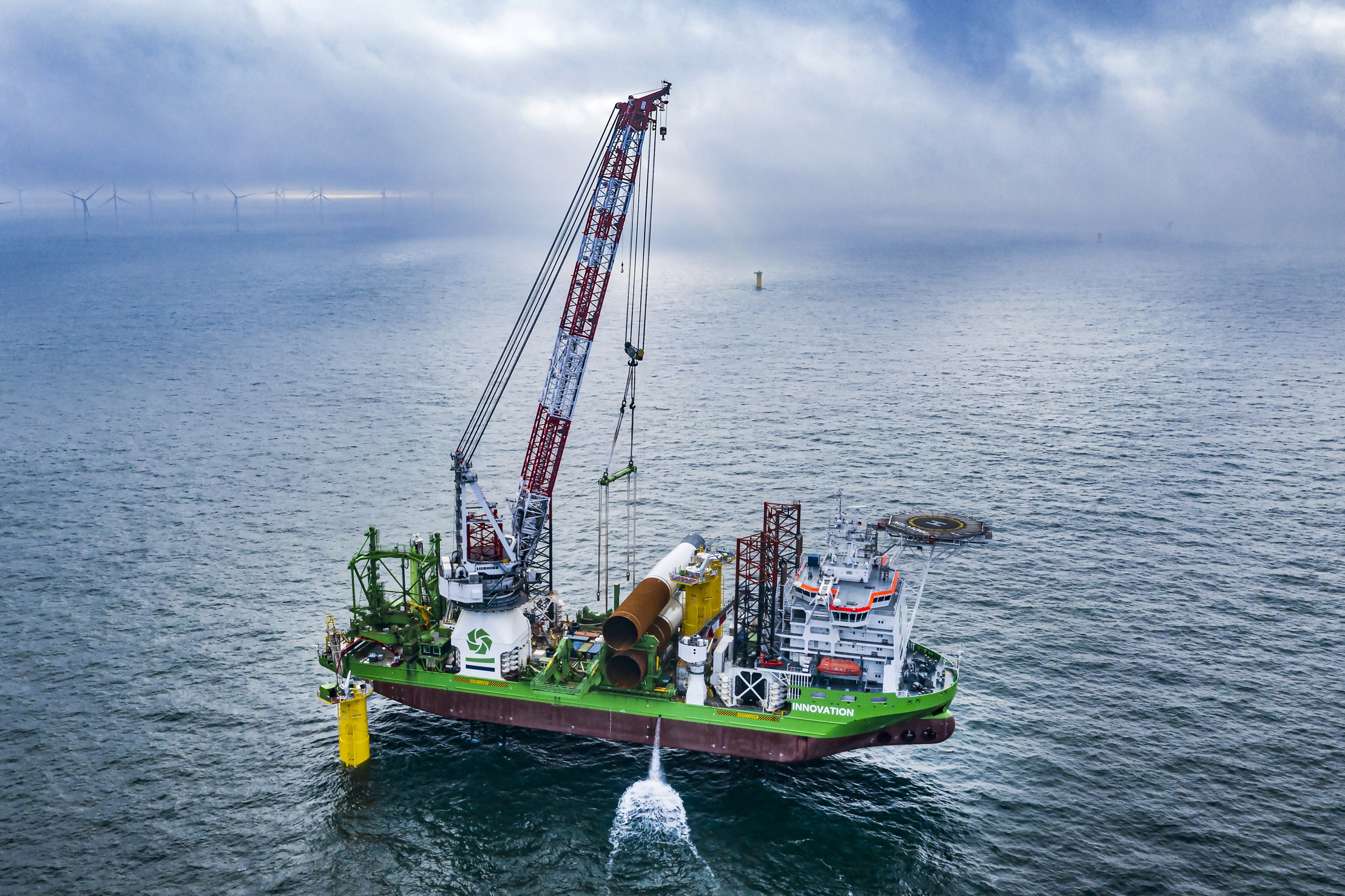 DEME Offshore and Herrenknecht sign agreement for fabrication of a subsea drill for XL-monopile installation at Saint-Nazaire offshore wind farm