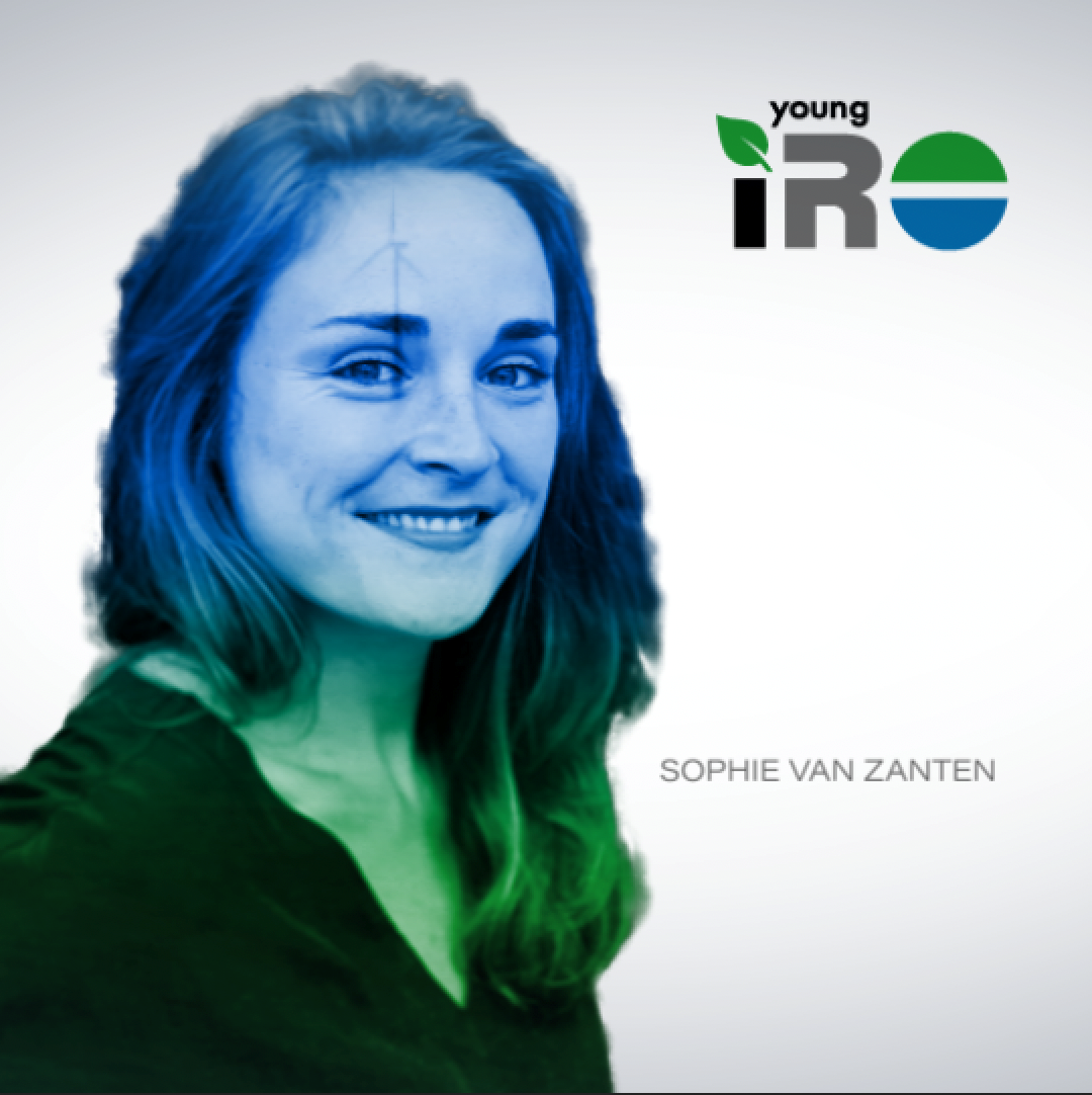Sophie van Zanten succeeds Bernard Alblas as Chair of the Young IRO board