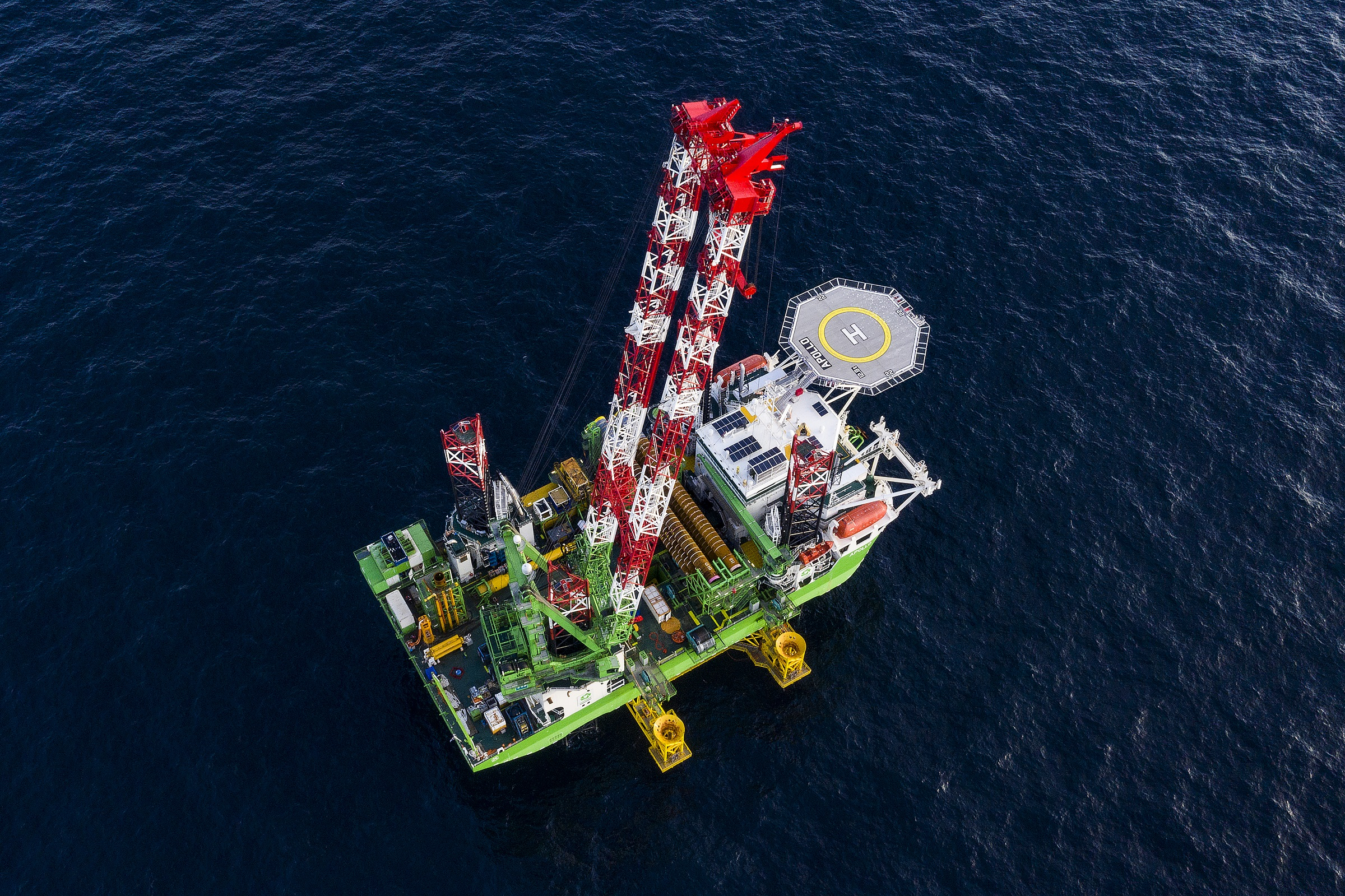 Foundation piling operations completed at Moray East Offshore Wind Farm