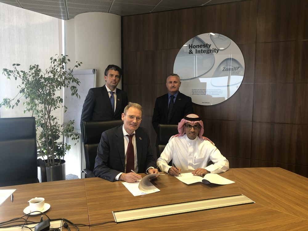 Collaboration between Zamil Offshore and KenzFigee