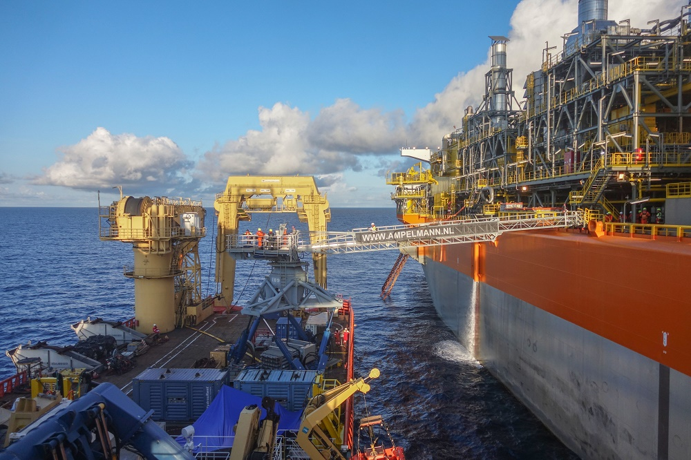 Ampelmann enters Guyana after securing contract with SBM Offshore