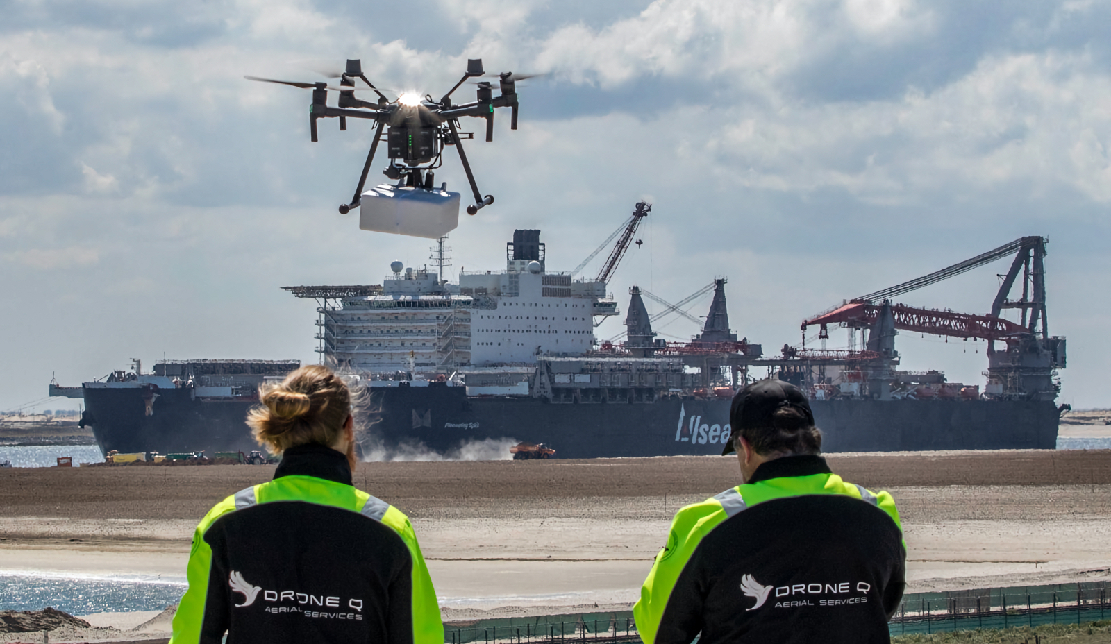 KIJKJE ACHTER DE SCHERMEN: DRONE DELIVERY IN ROTTERDAMSE HAVEN NAAR PIONEERING SPIRIT