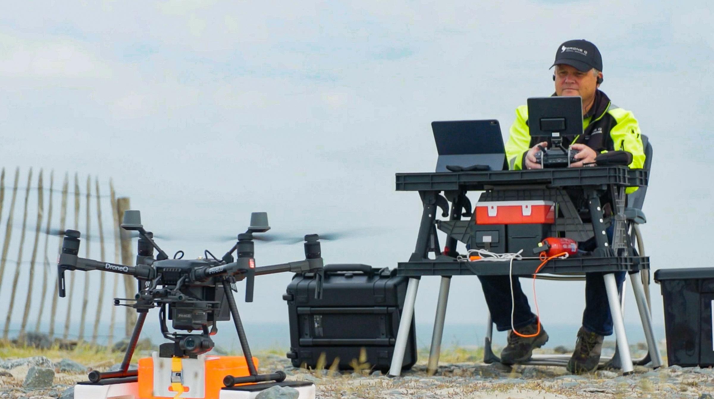 Nieuw lid in de schijnwerpers: DroneQ Aerial Services