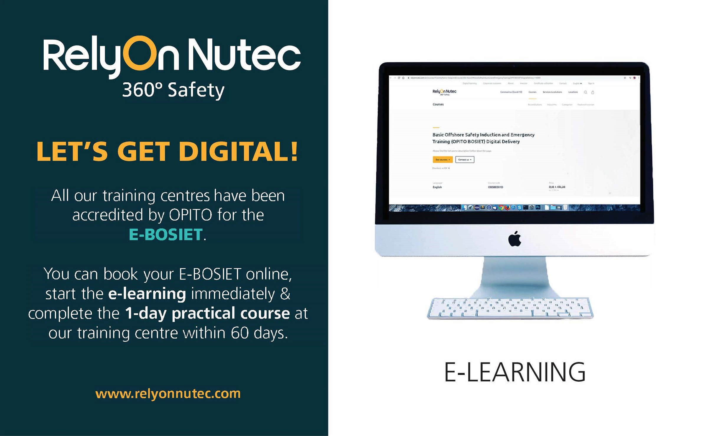 E-BOSIET available at RelyOn Nutec