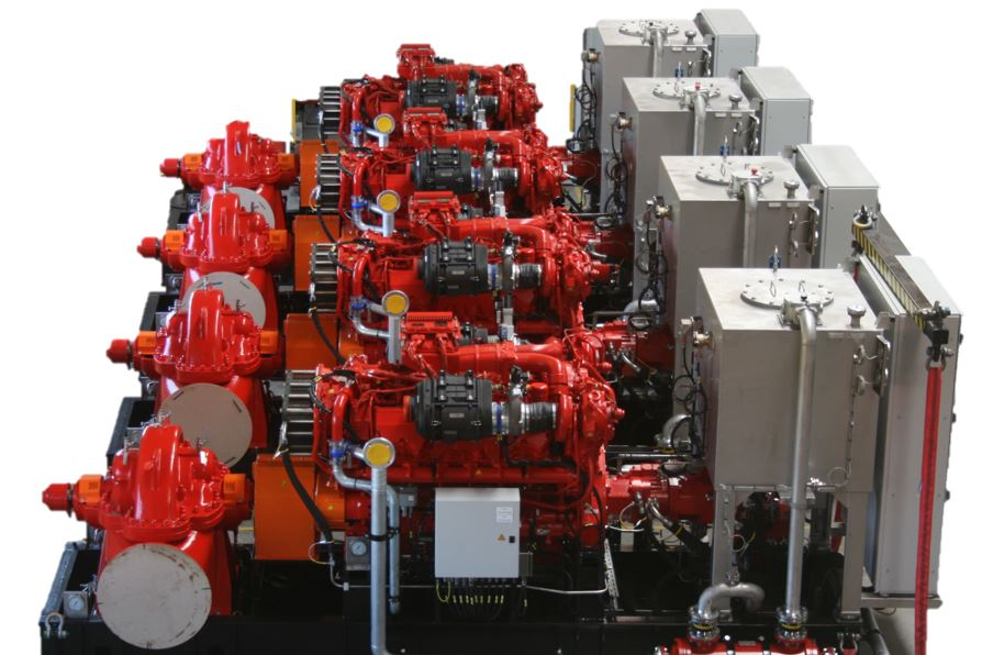 CSH  Hydrodiesel delivered 4 FPSO Fire Pump Systems