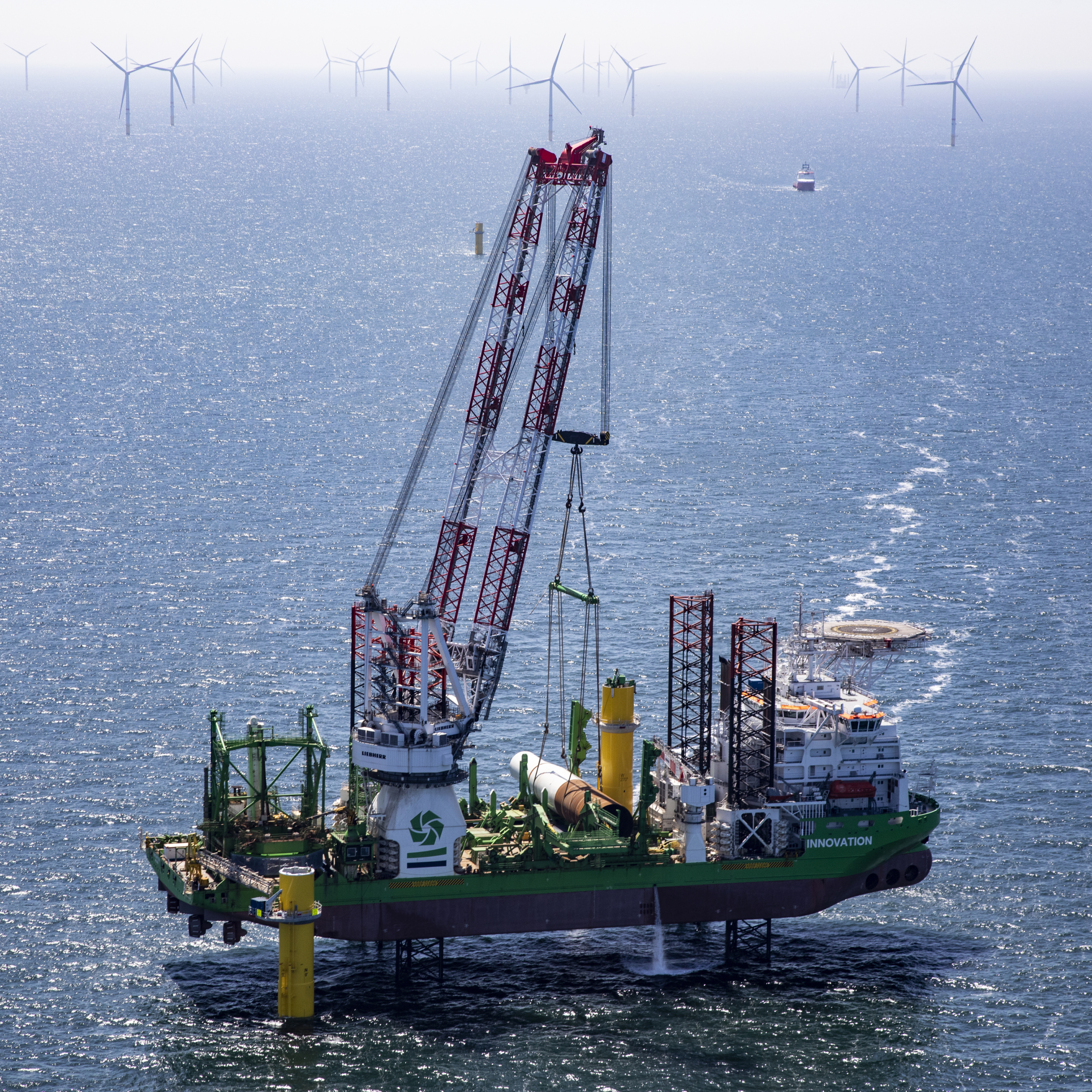 Ørsted and DEME Offshore successfully complete installation of Borssele 1&2 foundations